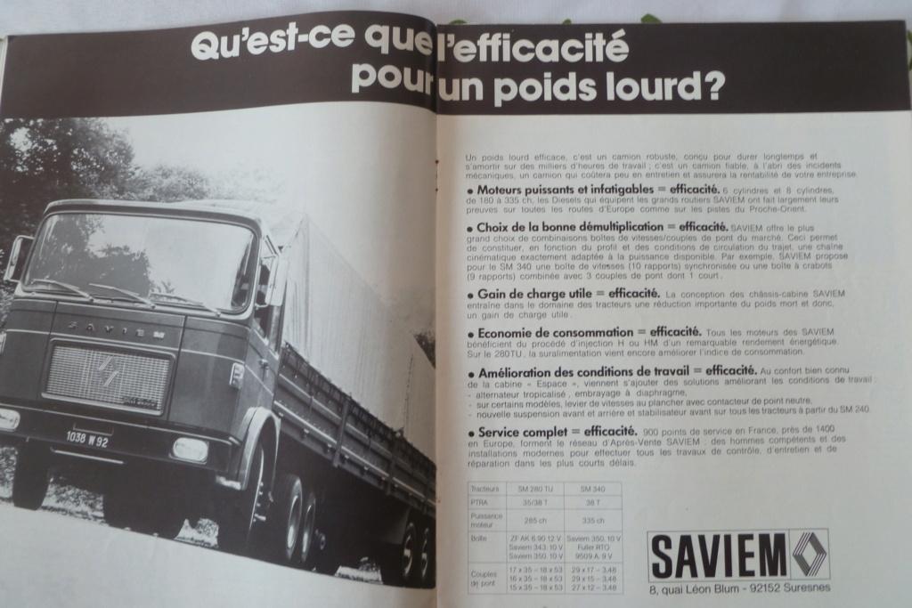 Pub et catalogues SAVIEM Saviem28