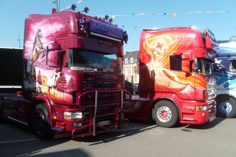 camions decorés Scania28