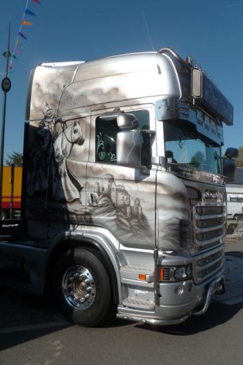 camions decorés - Page 2 Scania67