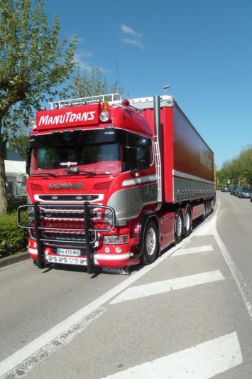 camions decorés - Page 3 Scania71