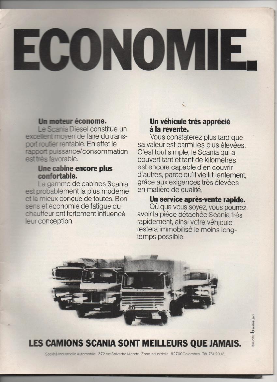 PUB ANCIENNES ET NOUVELLES POIDS LOURDS ET ACCESSOIRES - Page 2 Scania91
