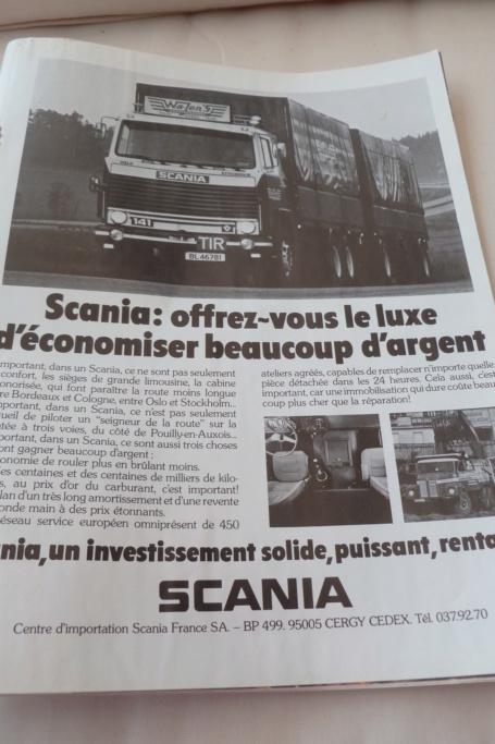 PUB ANCIENNES ET NOUVELLES POIDS LOURDS ET ACCESSOIRES - Page 2 Scania92