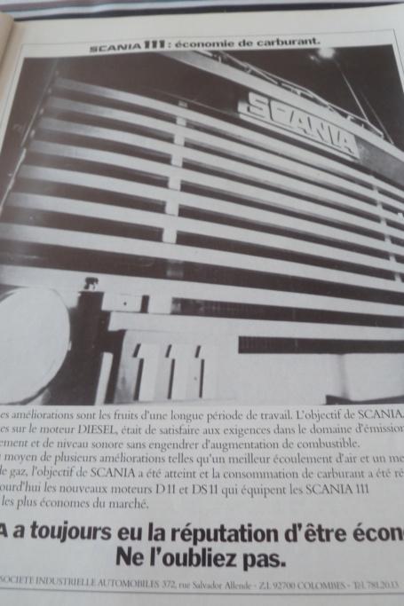 Pub et catalogues SCANIA Scania95