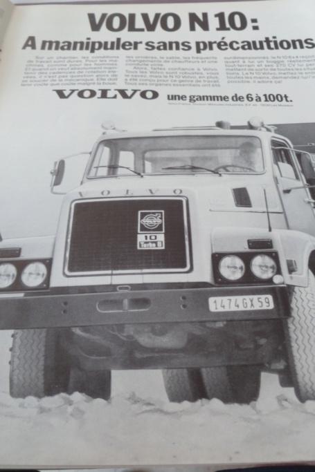 PUB ANCIENNES ET NOUVELLES POIDS LOURDS ET ACCESSOIRES - Page 2 Volvo15