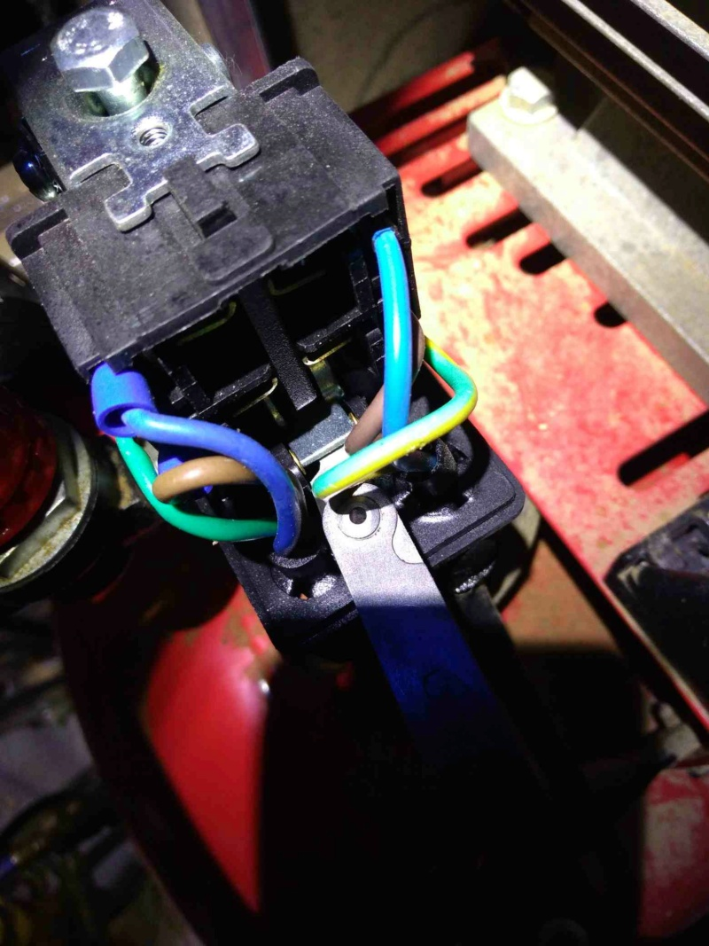 Dépannage compresseur 100 litres 3 HP MECAFER P_202115