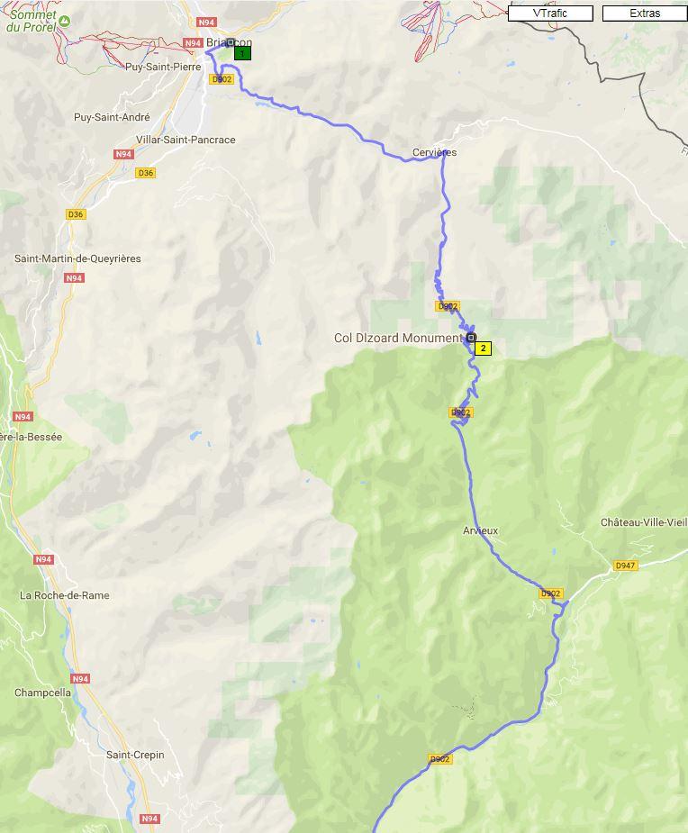 Route des Grandes Alpes - col de l'Izoard Captur14