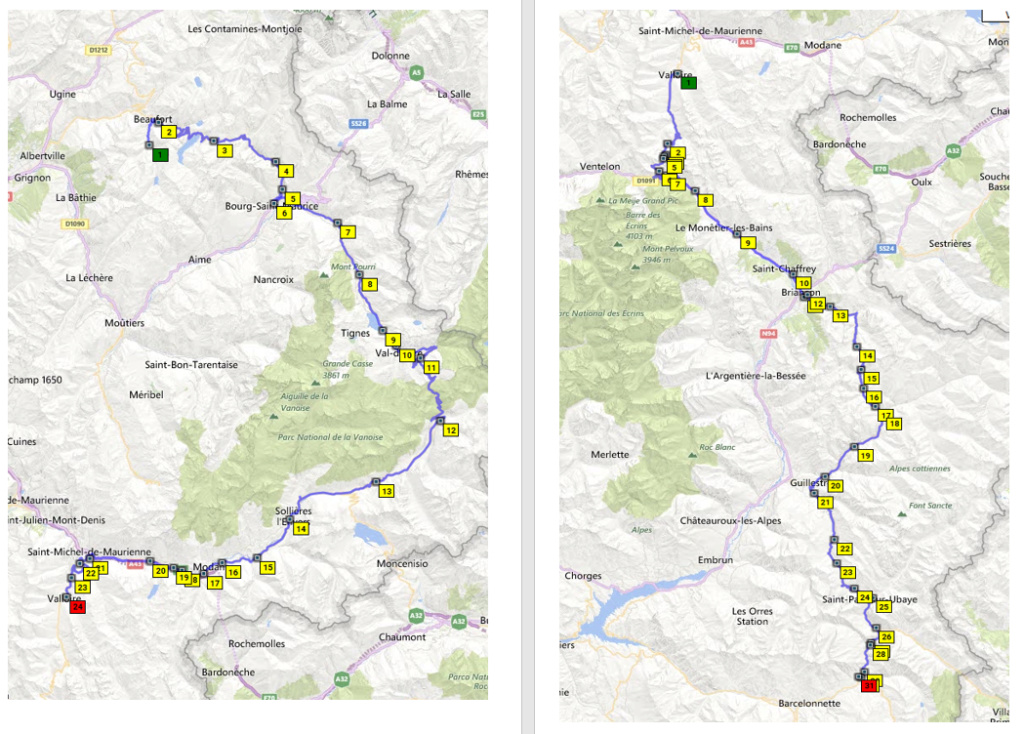 L'ours sur la Route des grandes Alpes Captur28