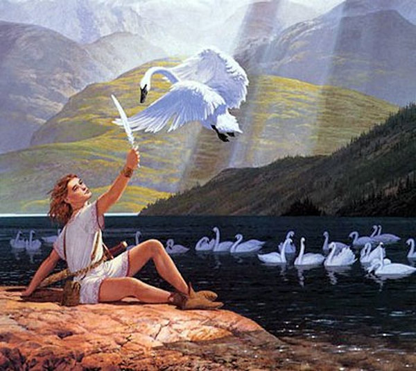 MYTHOLOGIE CELTIQUE Aengus11