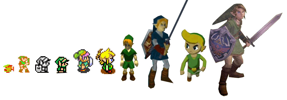 The Legend of Zelda Link-e10