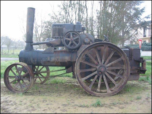 Tracteur ancien 20b1010