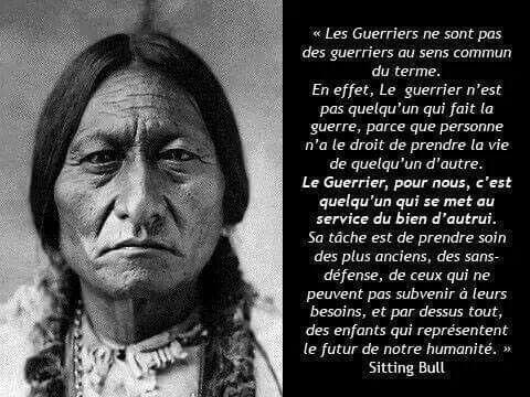 La sagesse des Indiens d'Amérique que l'on appelle des sauvages a médité 21818210