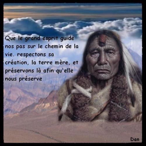 La sagesse des Indiens d'Amérique que l'on appelle des sauvages a médité 5abab710