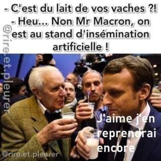 Macron au salon  - Page 10 5e54cf11