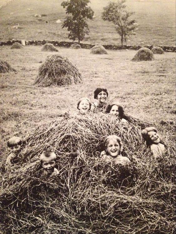 Comment les enfants s'amusaient avant dans les fermes 91336c10