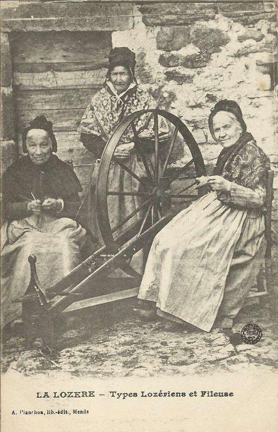Les métiers d'antan, ou la vie d'autrefois A262b010