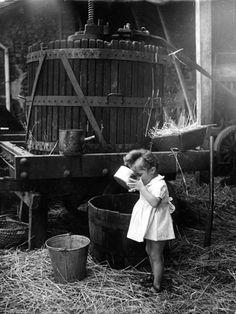 Comment les enfants s'amusaient avant dans les fermes Acb1c910