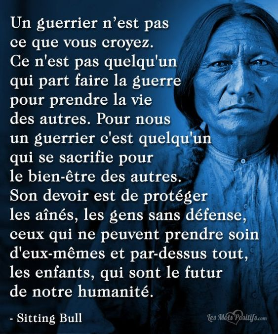 La sagesse des Indiens d'Amérique que l'on appelle des sauvages a médité B9352110