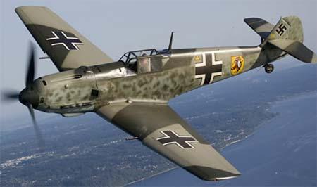 Les avions de guerre. Bf109_12
