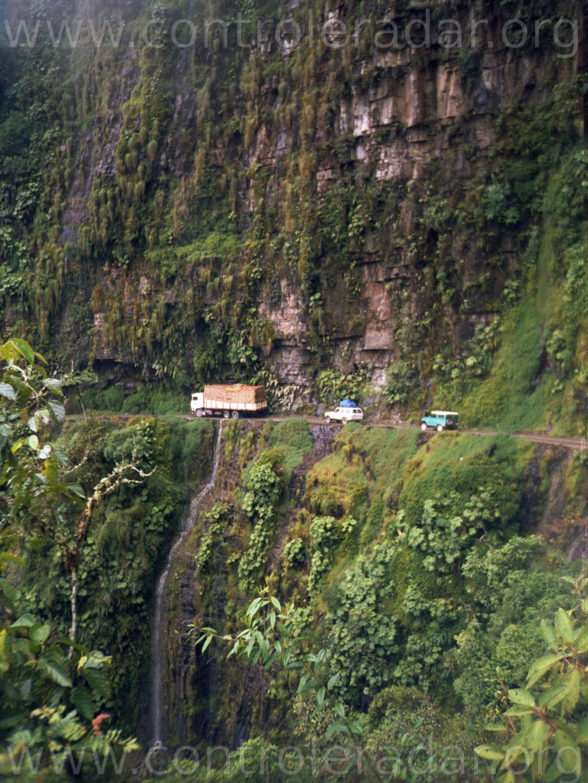 Route de la mort, en Bolivie Bolivi10