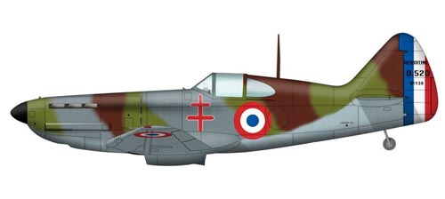Les avions de guerre. Dewoit10