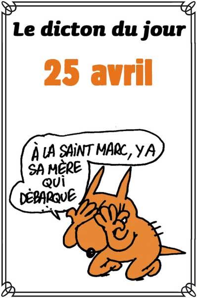 aujourd'hui , c' est la saint .................. - Page 16 Dicton59