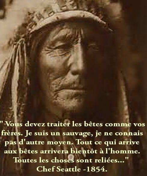 La sagesse des Indiens d'Amérique que l'on appelle des sauvages a médité F7f01510