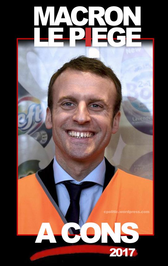 humour en images II - Page 20 Macron10