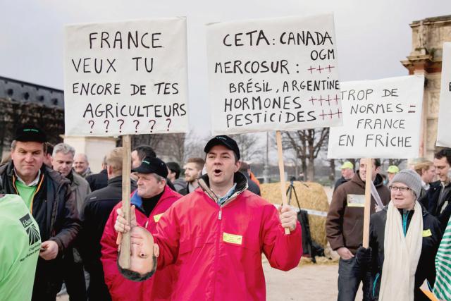 manif des agriculteurs en france Manife10