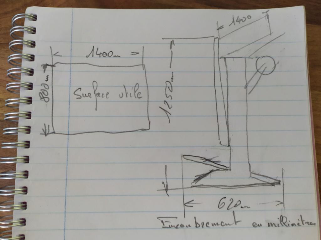 Vends table à dessin rénovée ( vendue merci ) Img_2080