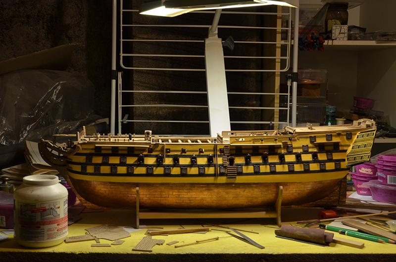 HMS Victory de Mantua au 1/98° - Page 9 Dsc_5810