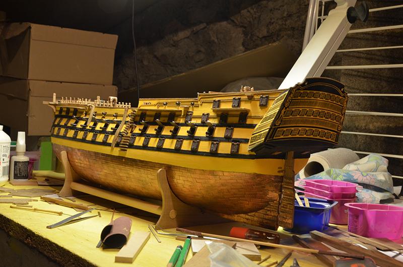 HMS Victory de Mantua au 1/98° - Page 9 Dsc_5811