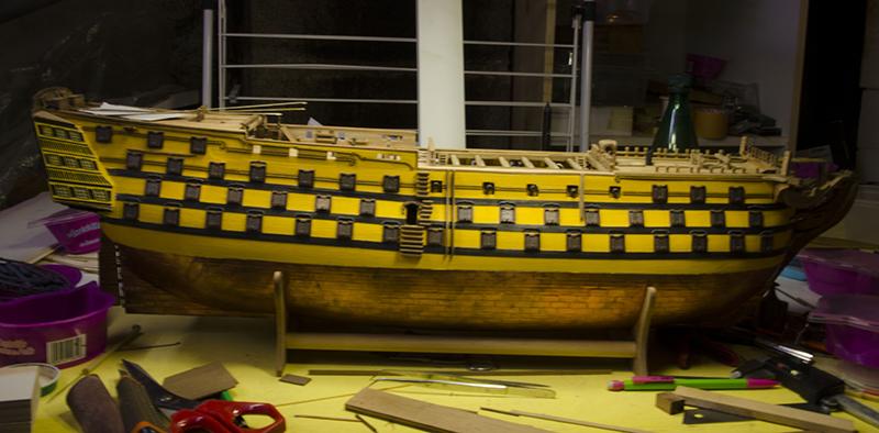 HMS Victory de Mantua au 1/98° - Page 7 Victor12
