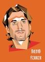 Portraits top players + federer Ferrer11