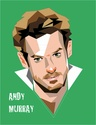 Portraits top players + federer Murray11