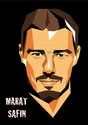 Portraits top players + federer Safin11