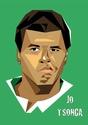 Portraits top players + federer Tsonga11