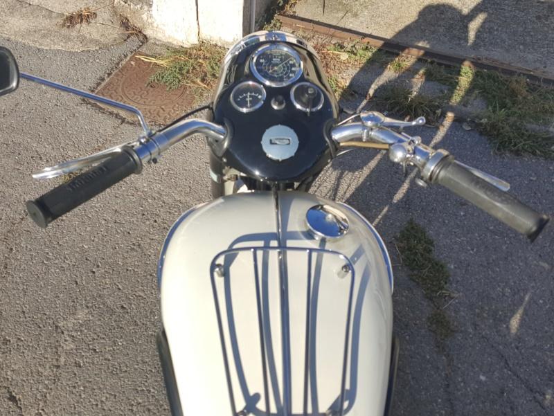 Vends Triumph T100 1959 20180944