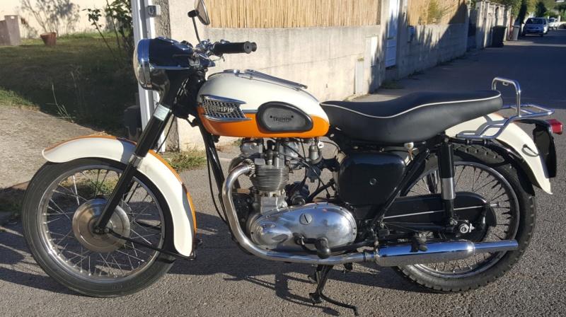 Vends Triumph T100 1959 20180945