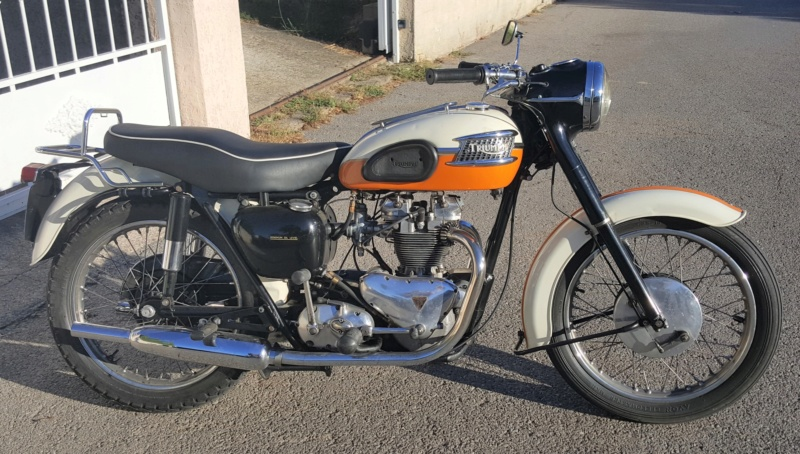 Vends Triumph T100 1959 20180946