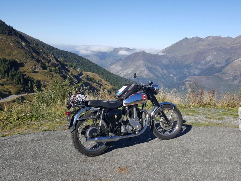 Norton club dans les Pyrénées 20190923