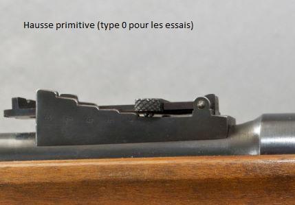 --- Fusil  Lebel & évolutions --- Hausse11