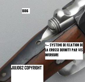 --- Fusil  Lebel & évolutions --- Queue_10