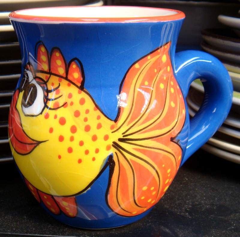 Pacific Originals Fishy Mug Dsc07322