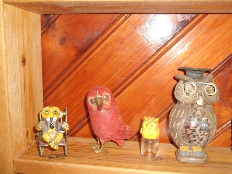 une de m'est collections de chouettes....... Samedi33