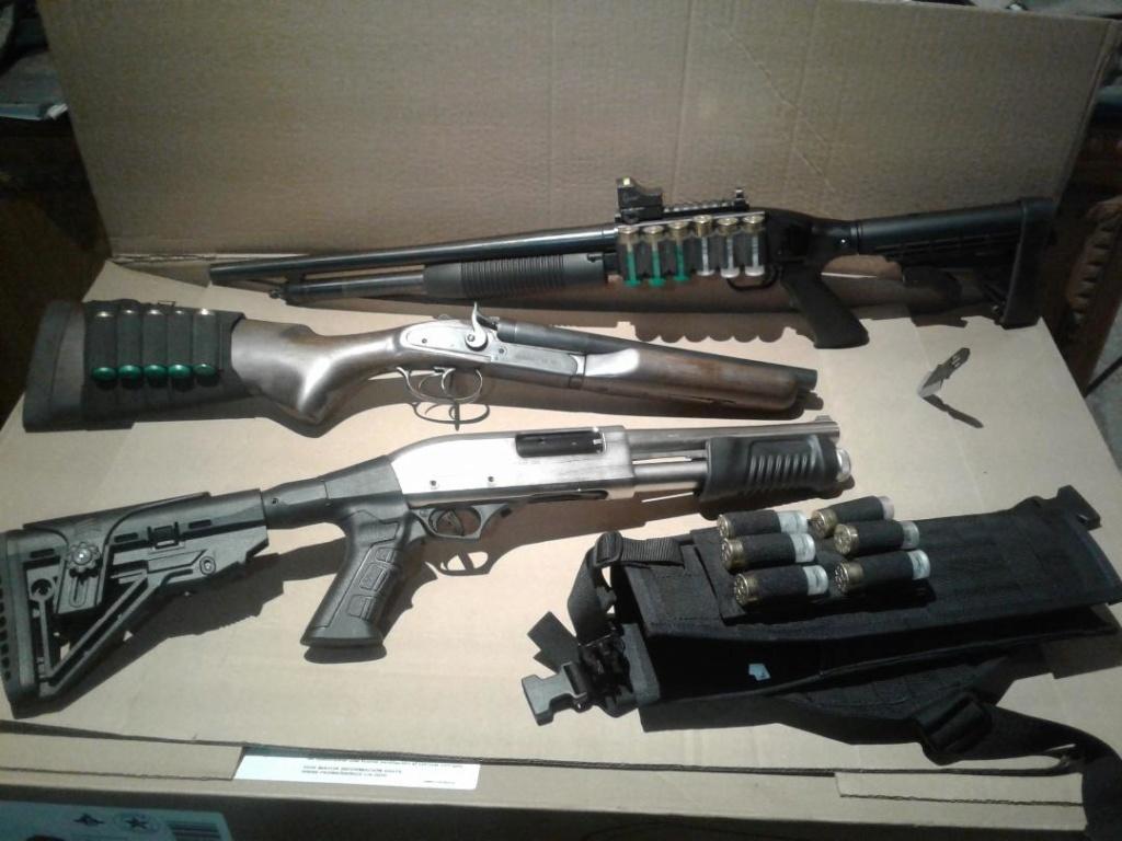 Remington à pompe custom de type S.B.S. (Short, Barrel, Shotgun) Shorty10