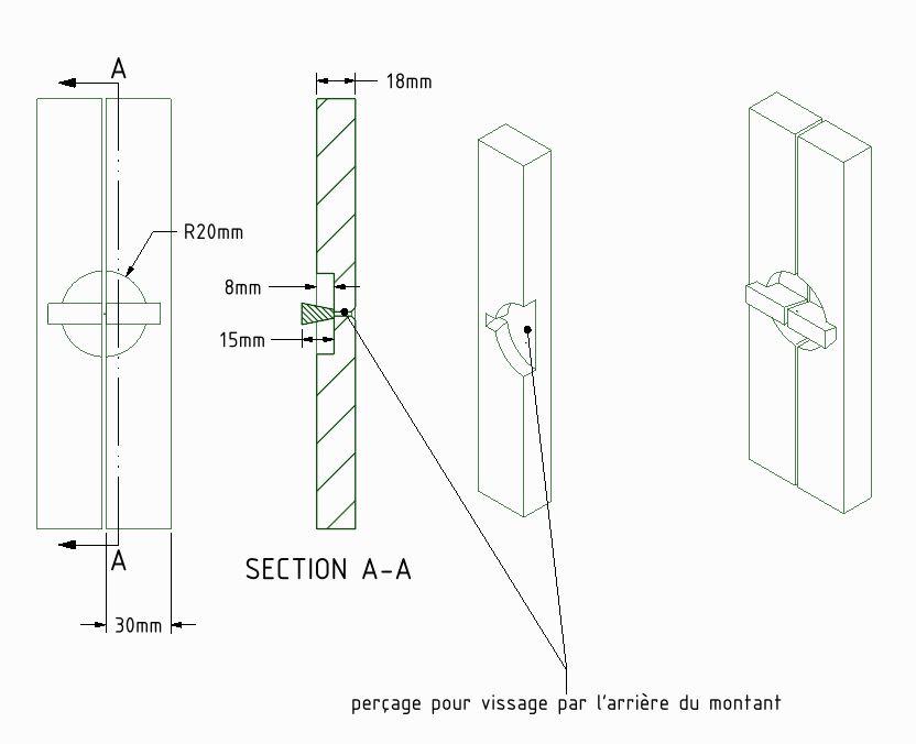 Une vitrine style Krenov - Page 3 Alain210