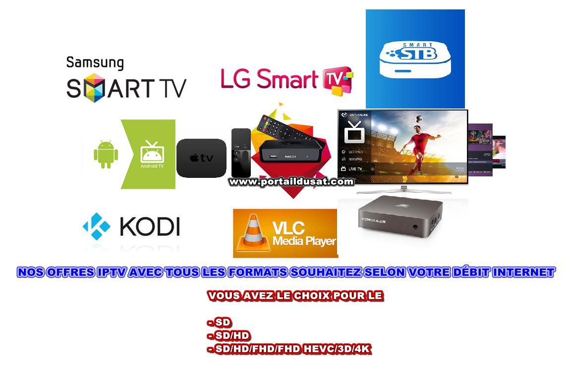 Serveur IPTV payant portaildusat 4545111