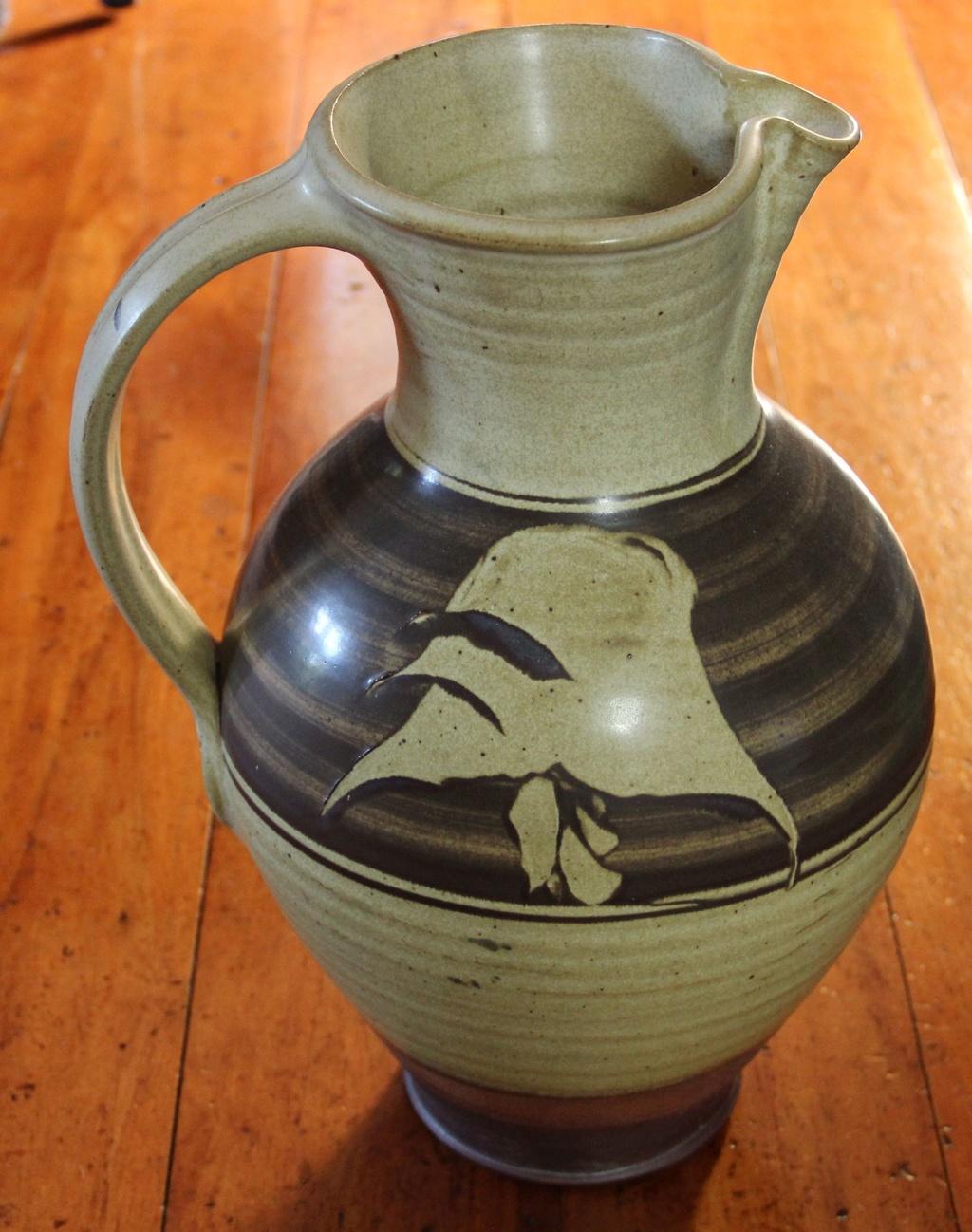 Identify maker of fabulous large jug = Wayne Porteous Img_0611
