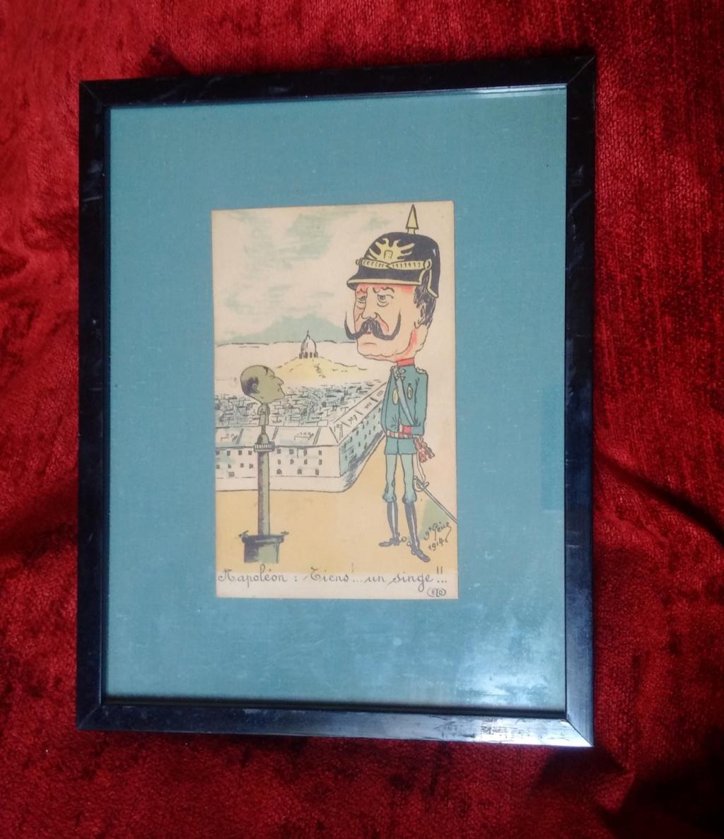 Caricature du kaiser carte postale éditions Ernest Le Deley Img_2032
