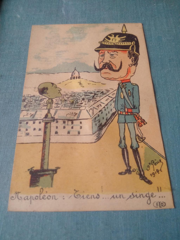 Caricature du kaiser carte postale éditions Ernest Le Deley Img_2033